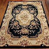 European plant flower carpet Thicken Cut flowers Chinese style rug Living room Tea table Bedroom Den carpet-M 300x400cm(118x157inch)