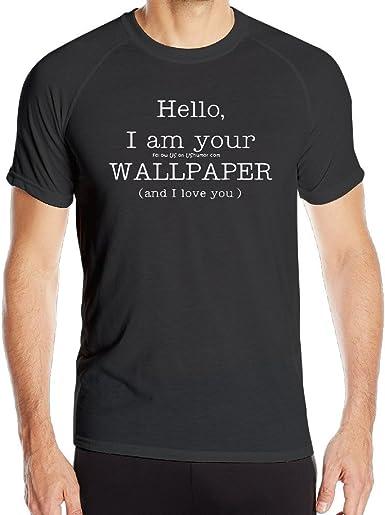 biotio Hello I Am Awesome – Camiseta de entrenamiento deportes de compresión de secado rápido camisetas: Amazon.es: Ropa y accesorios