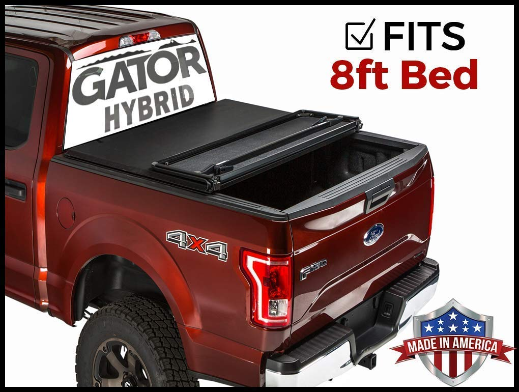 MaxMate Roll Up Truck Bed Tonneau Cover Works with 1999-2016 Ford F-250 F-350 F-450 Super Duty Styleside 8 Bed