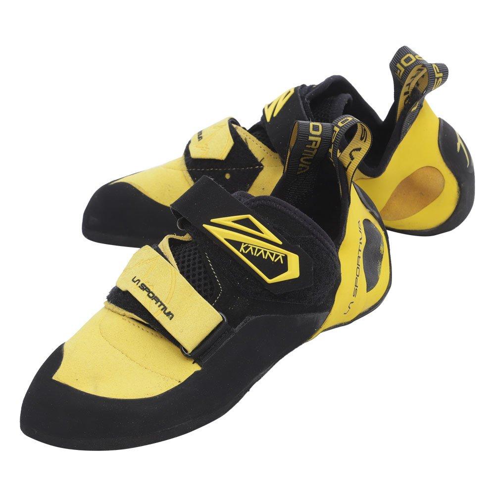 jaune noir 45 EU La Sportiva 20l202614, Chaussures d'escalade Mixte Enfant