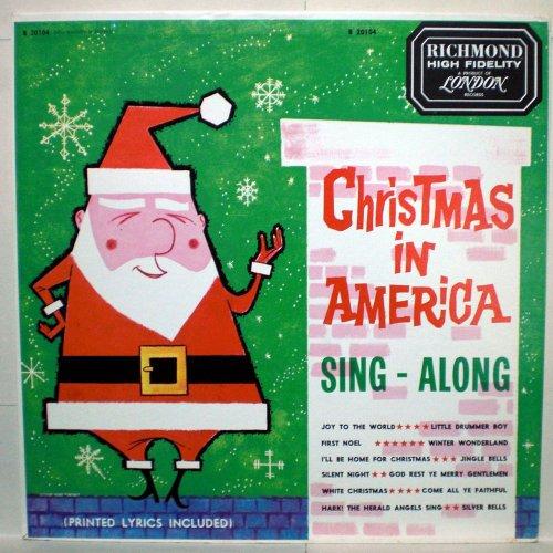 Christmas in America Sing Along - Vinyl LP - Mall In Richmond