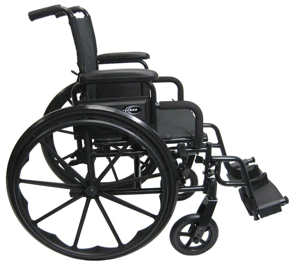 Amazon.com: Karman 30 lb Lightweight Wheelchair Flip Back Armrest ...