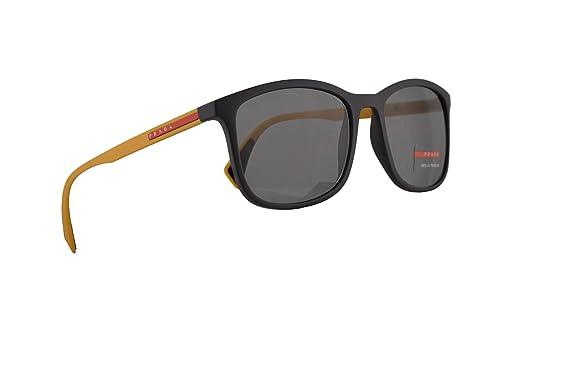 Amazon.com: Prada PS01TS - Gafas de sol (caucho gris con ...