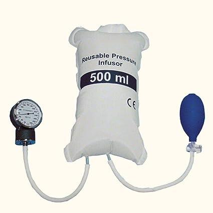 Amazon.com: FINLON presión arterial bolsa de infusión 16.9 ...