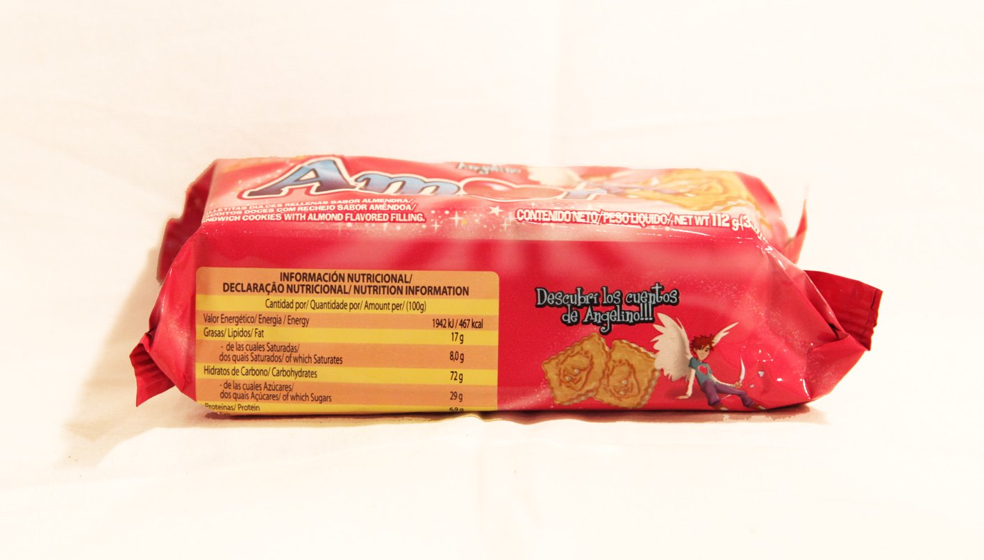 PACK de 4 paquetes de Galletitas AMOR de BAGLEY. Galletitas ...