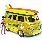 DC Comics Bus Playset for 8 Inch Retro Figures: Teen Titans With Exclusive Wondergirl Figure