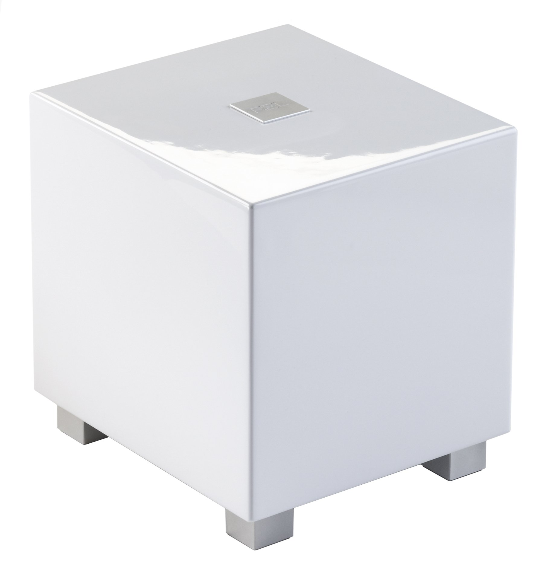 REL Acoustics T/Zero Subwoofer, 6.5 inch Down-Firing Driver, High Gloss White