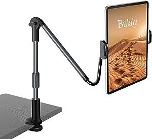 Bulalu Gooseneck Tablet Holder , Adjustable Ipad Stand ,Tablet Stand Wiht Long Arm Bracket Compatible with 4.7
