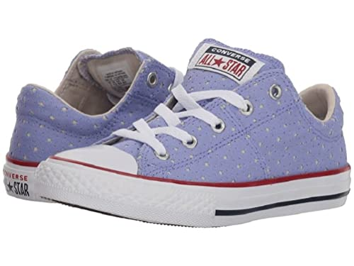new release half price best supplier Converse Girls' Chuck Taylor All Star Madison Sneakers - Twilight  Pulse/Driftwood/White (1 M US Little Kid')