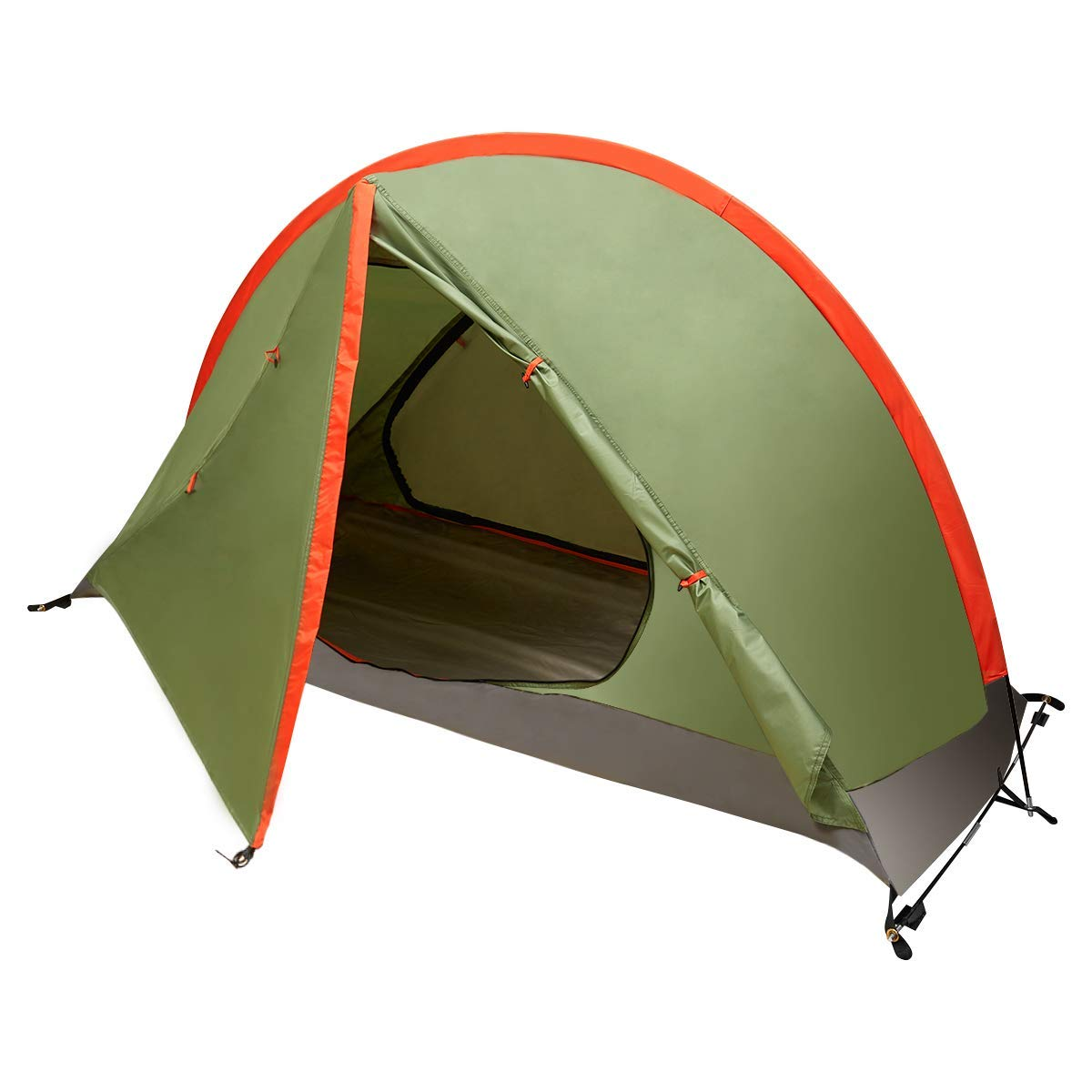 BFULL One Person Camping Tent, Extremely Lightweight for ...