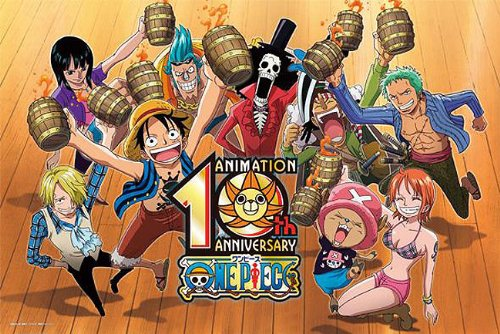 One Piece From TV Animation 10th Anniversary Puzzle 1000 Piece by ensky