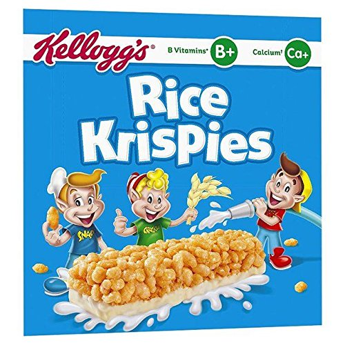 - Kellogg's Rice Krispies Cereal Milk Bars - 6 x 20g