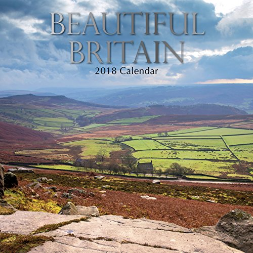 2019 Beautiful Britain Calendar - 12 x 12 Wall Calendar - With 210 Calendar Stickers hot sale