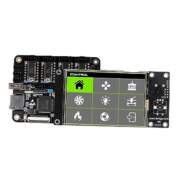 H HILABEE Pantalla LCD De Impresora 3D, 8729 LCD Módulo ...