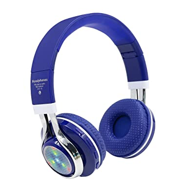 Estéreo inalámbricos Bluetooth 4.2 auricular con micrófono MicroSD/TF Música Reproductor de MP3 FM Radio