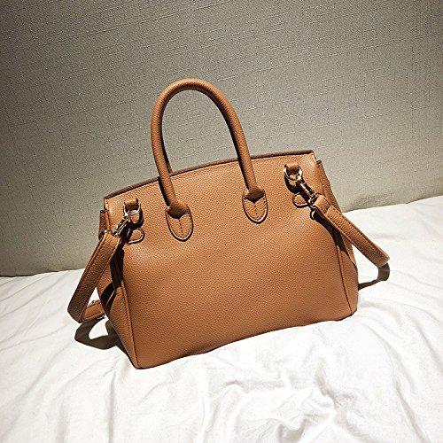 De Mano De Nuevo De Orange Messenger Meaeo Salvaje Bolso Marrón Bag Hardware Hombro Bolso U5zRqwf