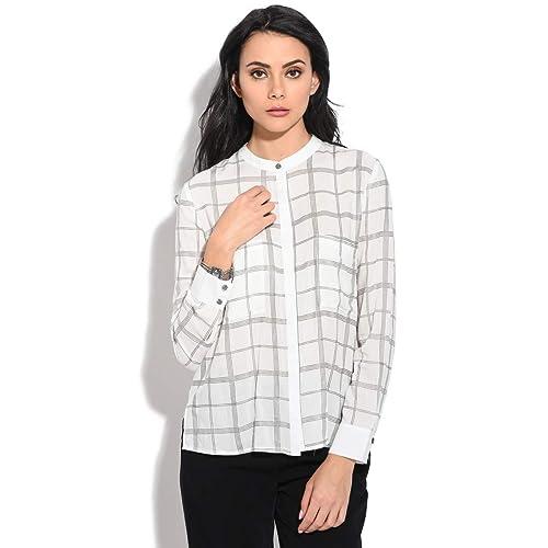 Orfeo Camisa Chene Blanco Mujer Colección Primavera/Verano
