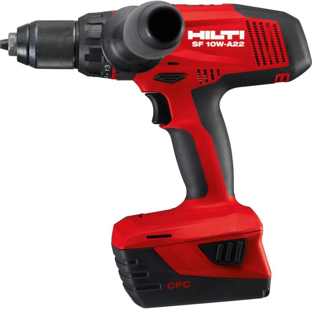 22-Volt Lithium-Ion 1//2 in Cordless High Torque Drill Driver SF 10W ATC Tool Body