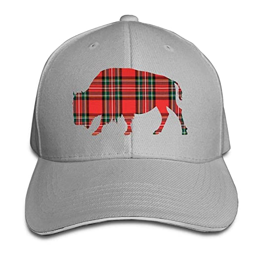 d08910d645f Unisex Buffalo Plaid Adult Adjustable Snapback Hats Baseball Cap at Amazon  Women s Clothing store