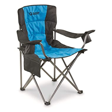 Guide Gear Oversized King Camp Chair, 500 lb. Capacity, Blue