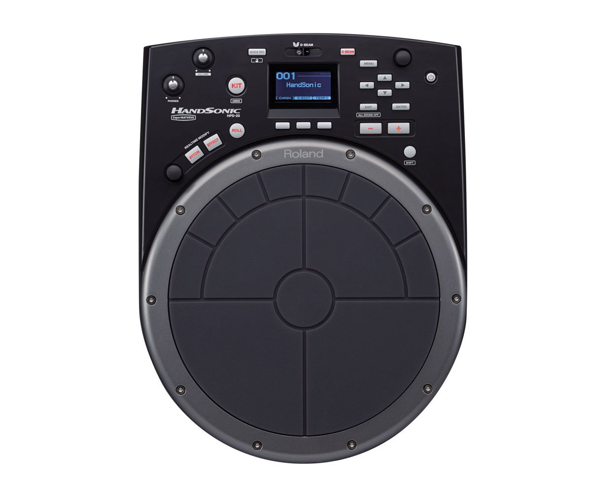 Roland HandSonic HPD-20 Digital Hand Percussion Controller - Black by Roland
