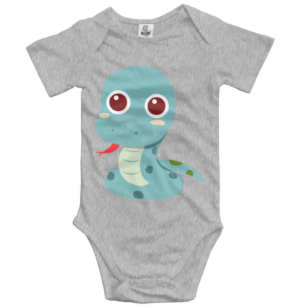 Jaylon Baby Climbing Clothes Romper Cute Snake Infant Playsuit Bodysuit Creeper Onesies Ash