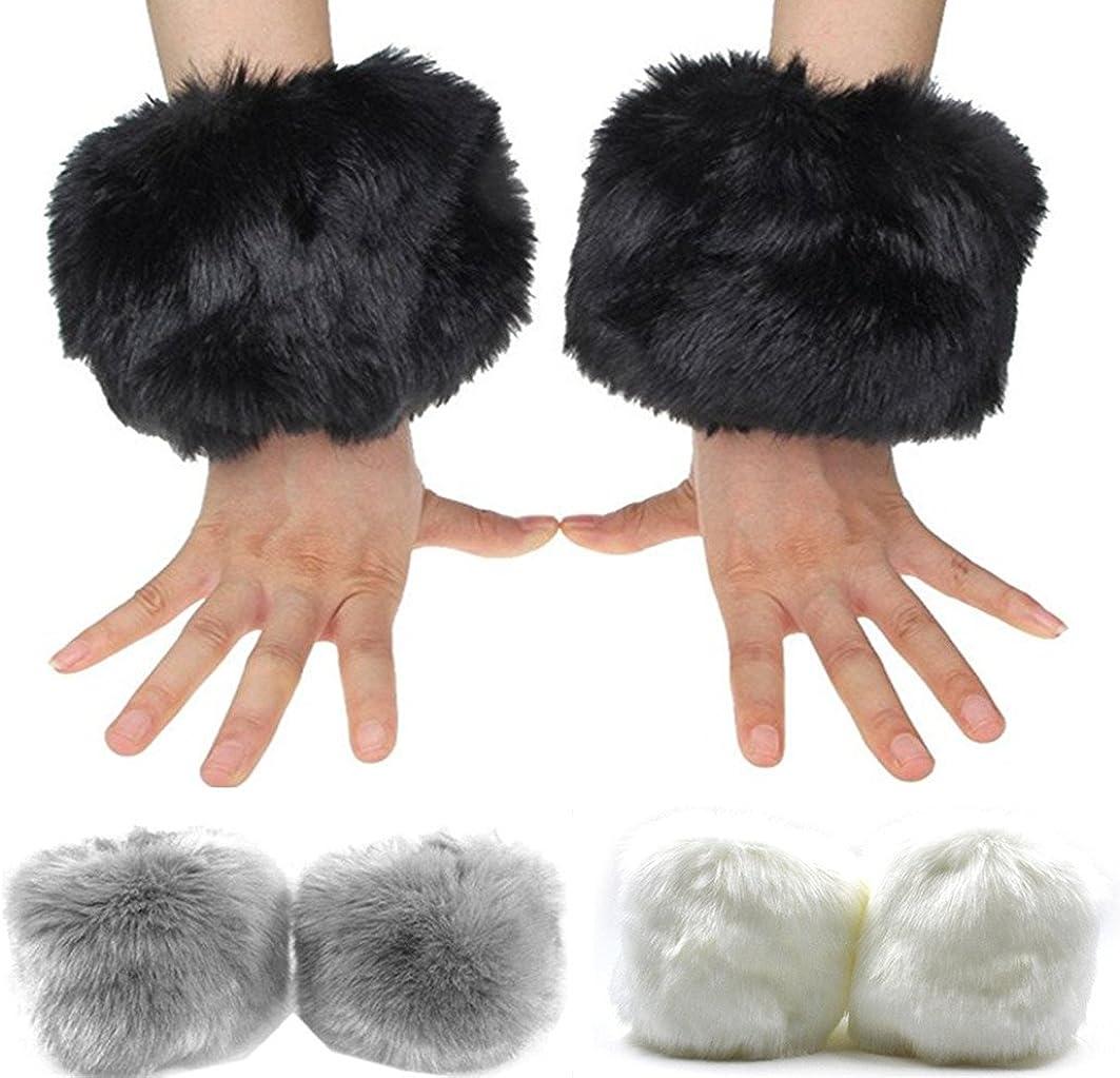 Faux Fox Fur Hair Soft...