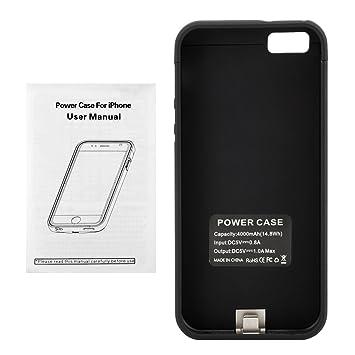 coque recharge iphone 5