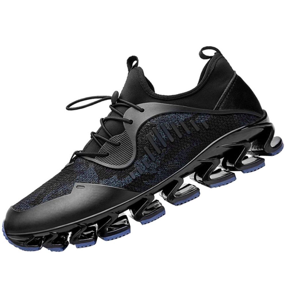 Zapatos Deportivos Ocasionales De Los Hombres Deportes De La Aptitud Zapatos Deportivos De La Atletismo Zapatos De La Personalidad De La Moda Zapatos Corrientes Antideslizantes 40EU|Azul
