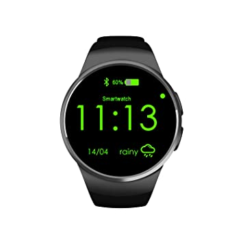 Black Bluetooth Relojes Digitales, Monitoreo Del Sueño / Prueba De Ritmo Cardíaco Smart Bluetooth Watch