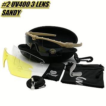 Gafas protectoras tácticas profesionales Gafas BALLISTIC M 3.0 Military Strike Gafas UV400 Army de disparo de