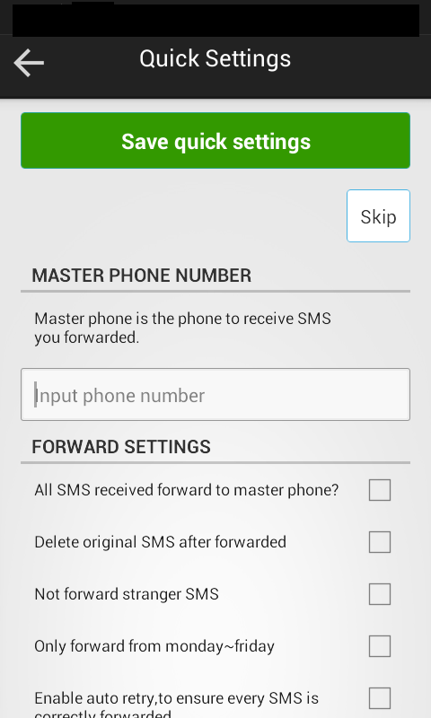 Amazon com: SMS Forwarder - SMS/MMS and Missed Call