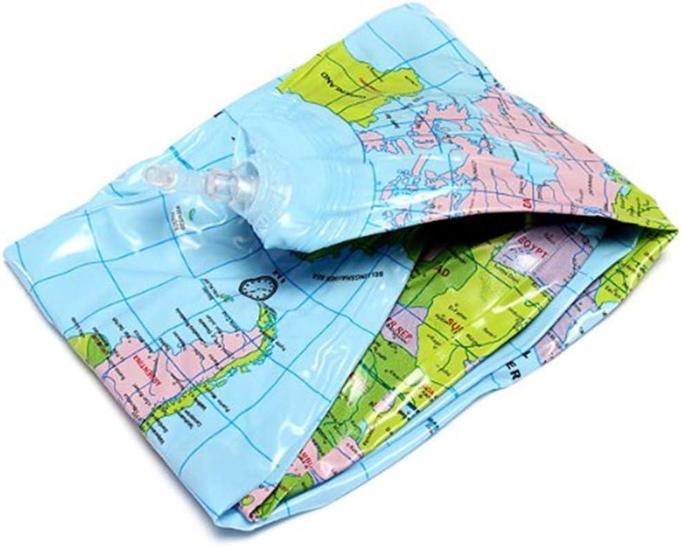 16 per Scuola//Bambini Fanuosu Mappamondo Gonfiabile Mondo Globo Terra Mappa Geografia Insegnante Aiuto Giocattolo Palla Regalo 40 cm