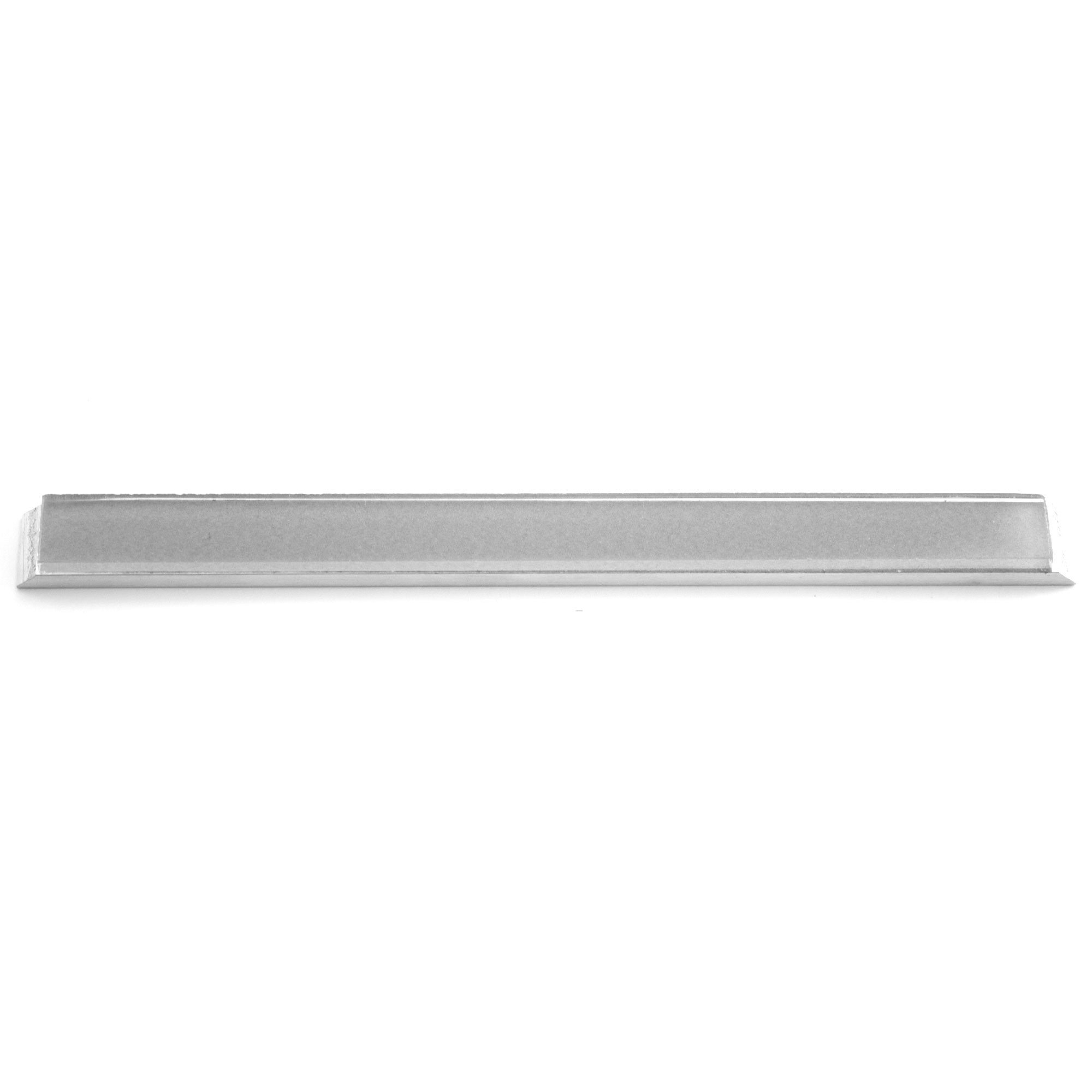 Narrow Glass Blank 6'' x 0.5'' with Aluminum Mounting for Edge Pro (For Recurve Blades)