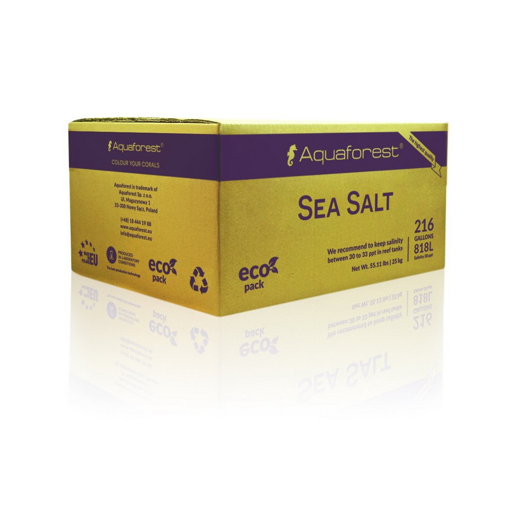 Aquaforest Sea Salt- Box 25kg
