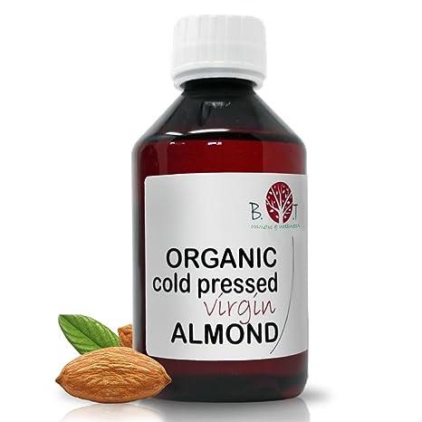 B.O.T Cosmetic & Wellness - Aceite de Almendras Ecológico Prensado en Frío 100% Puro 250