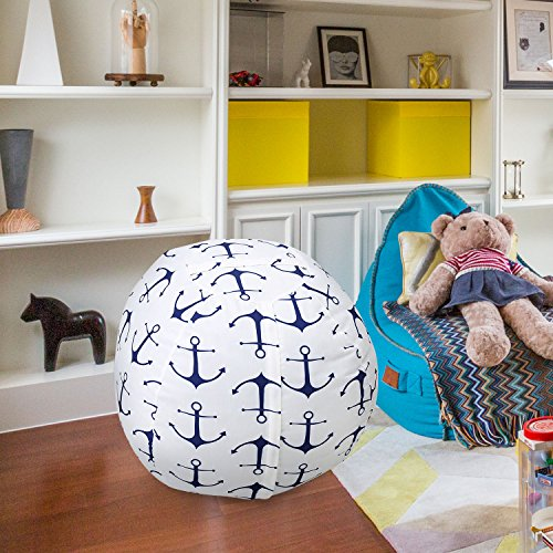 stuffed toy storage bean bag chair zooawa kids bedroom organizer for plush cuddly jumbo animal. Black Bedroom Furniture Sets. Home Design Ideas