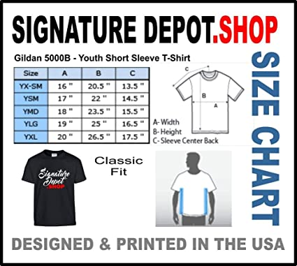 8ccdbe814e Amazon.com  Signature Depot Kids Funny T-Shirt (SECURITY) Youth Tee Shirt   Clothing
