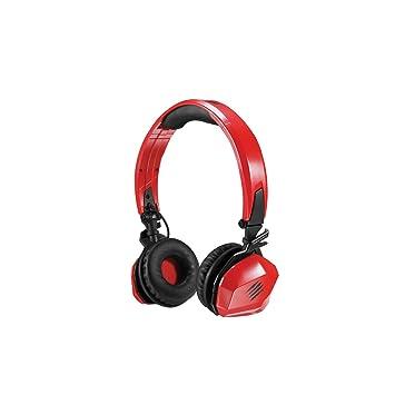 Mad Catz F.R.E.Q.M - Auriculares de diadema cerrados inalámbricos, rojo brillo: Amazon.es: Electrónica