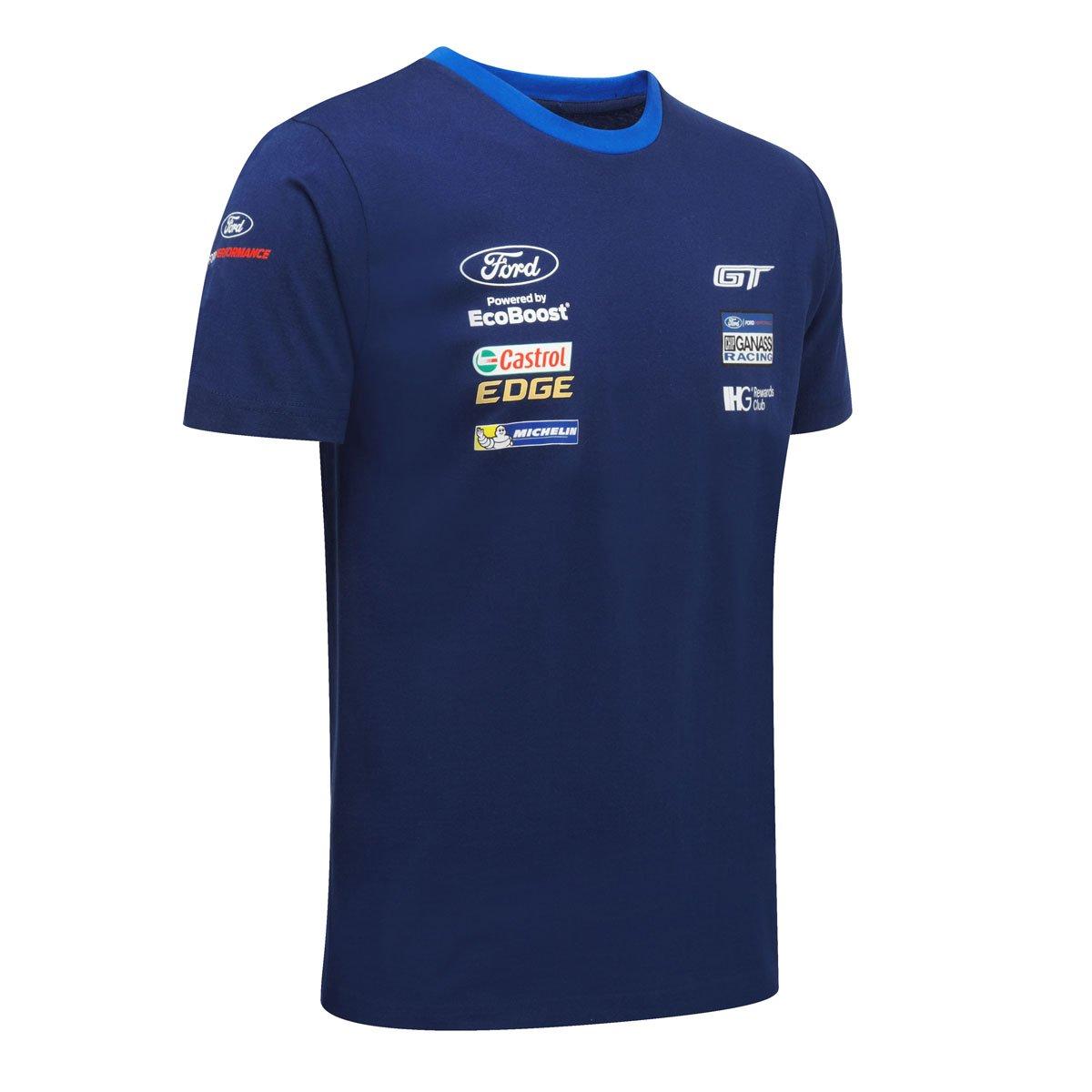Ford Motorsport Mens Team T Shirt Wec Ford Gt Chip Ganassi Racing Team