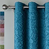 Best Eclipse Home Fashion Thermal Insulated Blackout Curtains Royal Blues - ChadMade VERSUS Solid Wrinkle Double Layers Blackout Insulated Review
