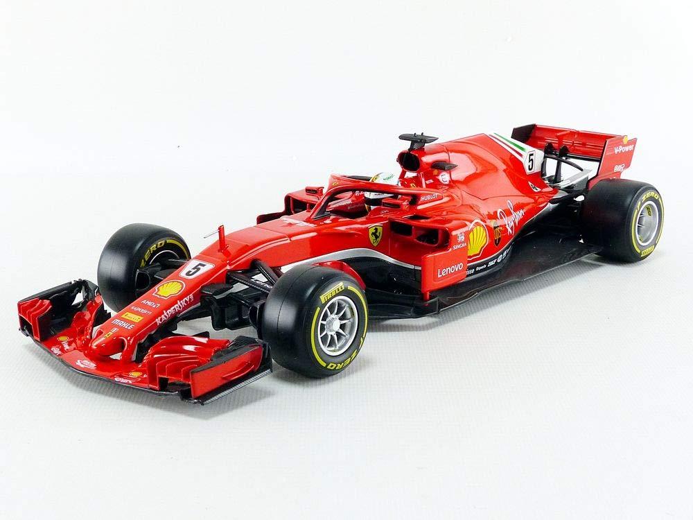 Bburago Ferrari Racing SF71H 2018 Formula 1 #5 Sebastian ...