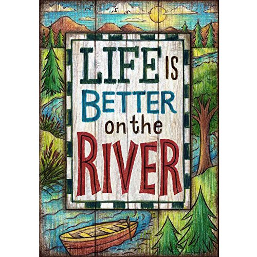 Life Better River Double Decorative
