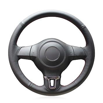 YJLC Para La Cubierta del Volante del Coche para Volkswagen Golf 6 ...
