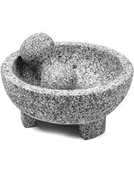 IMUSA USA MEXI-2011M Heavy Granite Molcajete 8-Inch, Gray