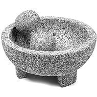 IMUSA USA MEXI-2011M Granite Molcajete 8-Inch, Gray