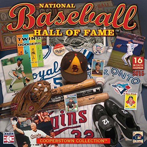 The National Baseball Hall of Fame(TM) 2015 Wall Calendar (Cooperstown Collection) (National 2015 Calendar Wall)