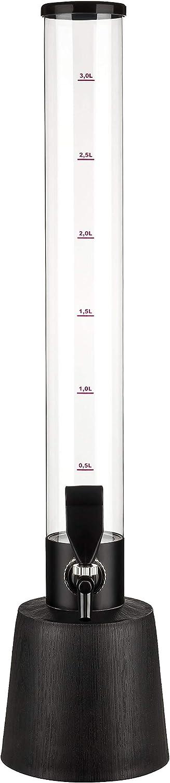Cerveza de 3,5L Tower cerveza columna dispensador de bebidas–Columna con refrigeración integrada y rausnehmbarer Hielo