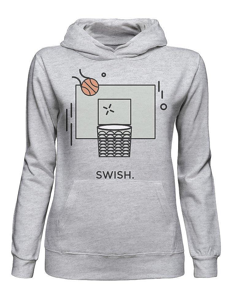 graphke Basket Swisher Sudadera con Capucha para Mujer XX-Large: Amazon.es: Ropa y accesorios