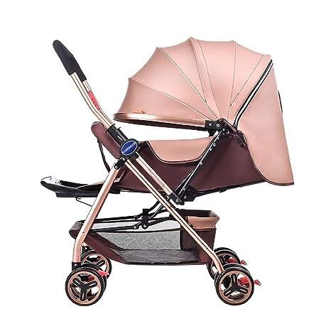GWM carrito de bebé, carrito de bebé recién nacido, plegable ...